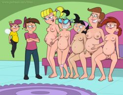 angry big_breasts breasts fairly_oddparents happy harem incest nipples nude pregnancy pregnant pussy sfan smile timmy's_mom timmy_turner tootie trixie_tang veronica_star vicky wanda