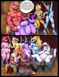 2016 abortion anthro anthrofied applejack_(mlp) ball_gag balls big_macintosh_(mlp) birth blindfold blood bondage bound branding breasts comic crying cum english_text equine feathered_wings feathers female fluttershy_(mlp) forced friendship_is_magic furry gag gore group handjob highres horn lactating machine male mammal milk milking_machine muscular muscular_male my_little_pony nipples nude pegasus penetration penis pinkie_pie_(mlp) pregnant rainbow_dash_(mlp) rape rarity_(mlp) restrained revadiehard spread_legs spreading straight sweat tears text trap_(contrivance) twilight twilight_sparkle_(mlp) unicorn vaginal_penetration whitekitten wings yuri