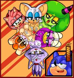 amy_rose bat big_breasts blaze_the_cat breasts cum cum_on_face dreamcastzx1 feline female hedgehog huge_breasts invalid_tag lagomorph male mammal multi_breast multiple_paizuri paizuri rabbit raianonzika rouge_the_bat sonic_(series) sonic_riders sonic_the_hedgehog swallowing vanilla_the_rabbit wave_the_swallow zeena zeti