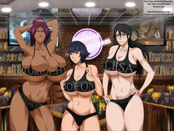 bleach ero-enzo female huge_ass huge_breasts lisa_yadomaru presenting shihouin_yoruichi slave soi_fon voluptuous