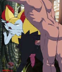 2_male anal animated braixen gay male pokemon pokemon_(game) shadman yaoi zoophilia