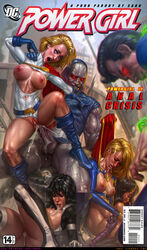 2boys 4girls alien anal anal_sex ass atlee black_hair blonde_hair blue_eyes bodysuit breasts cape closed_eyes cock darkseid dc dc_comics elbow_gloves female gloves grey_skin hips justice_league karen_starr large_breasts legwear leotard long_hair male multiple_boys multiple_girls nipples open_mouth penetration penis power_girl pussy rape runny_makeup sabudenego sex shoes short_hair spread_legs supergirl superman superman_(series) tears teeth testicles the_new_gods tiara tongue torn_clothes vagina vaginal_penetration wonder_woman wonder_woman_(series)