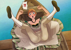 anna_(frozen) bloomers female frozen_(movie) solo thefetishism upskirt