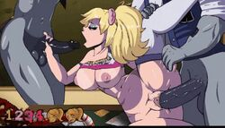 animated gang_bang gangbang juliet_starling lollipop_chainsaw tagme