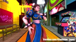 3d alyx_vance animated big_hands breast_expansion breasts capcom chun-li erection_under_clothes funny futanari huge_cock large_breasts penis shocking_(artist) source_filmmaker street_fighter tagme transformation webm