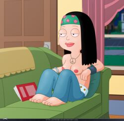 american_dad barefoot hayley_smith topless