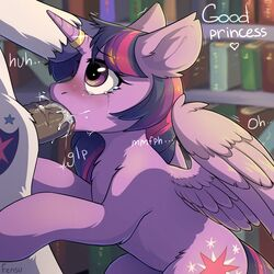 2016 alicorn blush book bookshelf brother brother_and_sister cum cum_in_mouth cum_inside cutie_mark dialogue duo english_text equine feathered_wings feathers female fensu-san feral friendship_is_magic fur hair hi_res horn horn_ring horse incest inside library male mammal my_little_pony oral penis pony purple_feathers sex shining_armor_(mlp) sibling sister straight tears text twilight_sparkle_(mlp) vein wings