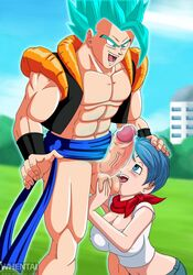 bulma_briefs dragon_ball_super gogeta tagme