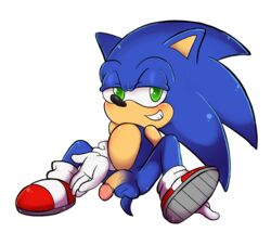 alpha_channel animal_humanoid anthro ass balls bunonii cat_humanoid clothing feline footwear gloves hedgehog humanoid looking_at_viewer male mammal nude penis quills shoes simple_background sitting smile solo sonic_(series) sonic_the_hedgehog sonictopfan spread_legs spreading transparent_background video_games