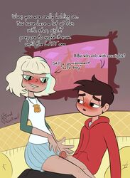 blush female jackie_lynn_thomas marco_diaz soulcentinel star_vs_the_forces_of_evil tagme