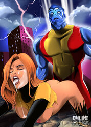 colossus kitty_pryde online_superheroes shadowcat tagme