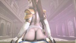 1girl animated big_ass big_breasts blonde blonde_hair blue_eyes breasts dat_ass fat_ass female hyrule_warriors jujala large_breasts legend_of_zelda light_skin link male moaning nude pale penis pointy_ears pov princess_zelda reverse_cowgirl sound source_filmmaker straight the_legend_of_zelda thighhighs webm