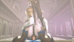1girl animated big_ass big_breasts blonde blonde_hair blue_eyes breasts dat_ass fat_ass female hyrule_warriors jujala large_breasts legend_of_zelda light_skin link male moaning nude pale penis pointy_ears pov princess_zelda reverse_cowgirl sound source_filmmaker spanking straight the_legend_of_zelda thighhighs webm
