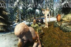 3d animated giant giantess liara_t'soni seizuredogsskyrimnaughties skyrim tesv the_elder_scrolls