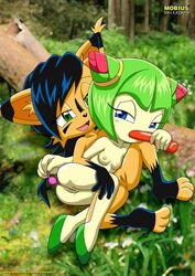 cosmo_the_seedrian mobius_unleashed nicole_the_lynx sex sonic_(series) tagme