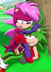 anthro brother brother_and_sister duo female furry hedgehog incest male mammal manic_the_hedgehog mobius_unleashed palcomix sex siblings sister sonia_the_hedgehog sonic_(series) straight tagme vaginal_penetration