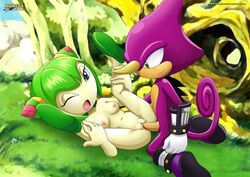 1boy 1girl cosmo_the_seedrian mobius_unleashed palcomix sex sonic_(series)