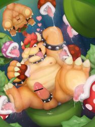 anthro anus areola armpit_lick armpits ass balls barefoot bondage bound bowser bowser_jr. censored claws cock_ring cum cum_on_penis cum_string drooling erection flora_fauna foot_fetish foot_lick group group_sex horn king koopa licking looking_at_viewer male messy moobs nintendo nipple_lick nipples nude open_mouth orgasm orgy overweight penetration penis piranha_plant plant presenting presenting_anus presenting_hindquarters raised_arm reuben_(artist) royalty saliva scalie sex sharp_claws sharp_teeth sitting size_difference slightly_chubby smile spikes spread_legs spreading super_mario_bros. teeth tentacle toe_claws tongue tongue_out uncut upside-down warp_pipe