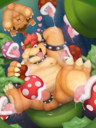 anthro anus areola armpit_lick armpits ass balls barefoot bondage bound bowser bowser_jr. censored claws cock_ring cum cum_on_penis cum_string drooling erection fellatio flora_fauna foot_fetish foot_lick group group_sex horn king koopa licking looking_at_viewer male messy moobs nintendo nipple_lick nipples nude open_mouth oral orgasm orgy overweight penetration penis piranha_plant plant presenting presenting_anus presenting_hindquarters raised_arm reuben_(artist) royalty saliva scalie sex sharp_claws sharp_teeth sitting size_difference slightly_chubby smile spikes spread_legs spreading super_mario_bros. teeth tentacle toe_claws tongue tongue_out uncut upside-down warp_pipe