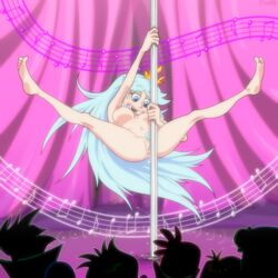 anus ass big_ass big_breasts bishop_(artist) breasts female milf nipples nude pole_dancing pussy pussy_juice queen_butterfly star_vs_the_forces_of_evil stripper stripper_pole