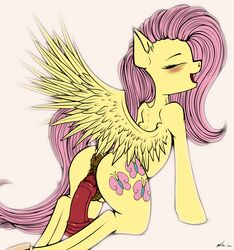 2017 absurd_res anus ass blush closed_eyes cutie_mark dildo dildo_sitting equine feathered_wings feathers female feral fluttershy_(mlp) friendship_is_magic hair hi_res hooves long_hair mammal masturbation my_little_pony neko-me open_mouth pegasus penetration pink_hair pussy sex_toy simple_background solo spread_wings vaginal_masturbation vaginal_penetration vaginal_penetration wings yellow_feathers