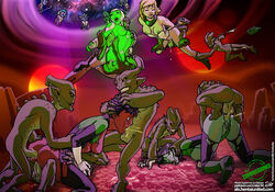 13boys 5girls absurdres alien alx anal anal_sex android anus arisia_rrab ass aya aya_(green_lantern) black_hair blonde_hair blue_eyes blue_skin bodysuit boots breasts cum cum_in_pussy cum_inside dc dc_comics double_penetration fellatio female fuckit gangbang green_lantern green_lantern:_the_animated_series green_lantern_(series) green_lantern_corps green_skin group_sex guardians_of_the_universe highres interracial interspecies jade jade_(dc) jade_(dc_comics) krolotean large_breasts large_filesize makeup male mascara multiple_boys multiple_girls multiple_penises nipples oral panties penis pussy rape red_skin robot robot_girl semen_in_anus semen_in_mouth sex shoes short_hair sideboob soranik_natu torn_clothes underwear vaginal_penetration white_hair