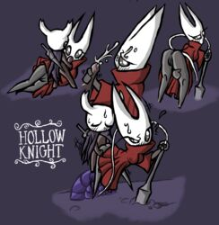 ambiguous_species anus arthropod clothing cum cum_on_face cumshot duo ejaculation female flavorsavior from_behind_position hollow_knight hornet_(hollow_knight) humanoid insects male male/female orgasm penis presenting presenting_pussy protagonist_(hollow_knight) pussy sex source_request sweat weapon