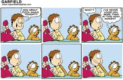 garfield jon_arbuckle newspaper_comic_strip tagme