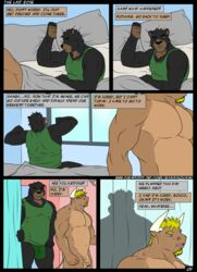 bear bovine cattle comic gammauzumaki male male/male mammal penis romantic_couple uncut