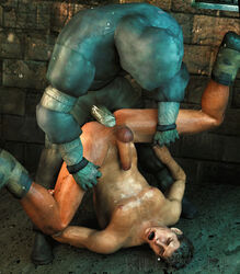 2boys 3d anal dirty forced killystein large_penis lifting male_focus multiple_boys nude outdoors penetration penis rape resident_evil sex source_filmmaker wince yaoi zombie