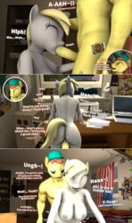 3d anthro anthrofied ass big_penis breasts comic cutie_mark derpy_hooves dialogue fan_character fellatio female friendship_is_magic from_behind_position furry male moorsheadfalling my_little_pony nipples oral penetration penis sex shady_light_(brony99) source_filmmaker straight text vaginal_penetration