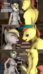 3d angry annoyed ass big_penis breasts comic derpy_hooves dialogue equine fan_character female friendship_is_magic male mammal moorsheadfalling my_little_pony nipples nude penis reveal shady_light_(brony99) source_filmmaker sparkles sparkling_penis text