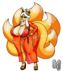 anthro ass big_breasts breasts camel_toe canine female fox furry kingfurryjion mammal mature_female nipples wide_hips