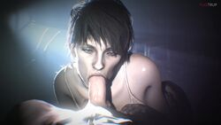 1boy 1girl 3d animated erection fellatio female fugtrup looking_at_viewer male no_sound oral penis pov resident_evil resident_evil_7 source_filmmaker straight webm zoe_baker