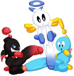 ! 3boys :o anthro anthro_only arousal aroused balls big_balls big_cock big_penis big_testicles black_eyes black_penis black_scalera blue_balls blue_feet blue_hands blue_penis blue_scalera blue_skin bright_colors chao dark_chao denizen1414 dickhead erect erect_penis erection fat_balls fat_cock fat_dick fat_penis fat_testicles floating floppy_penis fluffy_tail flying foreskin gigantic_cock gigantic_dick gigantic_penis halo hero_chao holding_penis humanoid humanoid_balls humanoid_genitalia humanoid_penis hyper_balls hyper_penis large_balls large_cock large_dick large_penis large_testicles long_cock long_penis looking_at_penis looking_down male male_only nude penis pink_feet pink_hands plain_background sega shiny_skin simple_background smile sonic_(series) sonic_adventure sonic_adventure_2 sonic_team spiky_teeth surpised tail testicles two_tone_penis two_tone_skin uncut veins veiny veiny_penis video_games white_background white_balls white_eyes white_penis white_skin wings yellow_feet yellow_hands