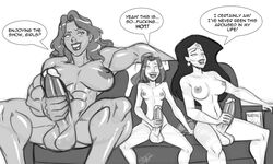 aeolus06 big_balls big_breasts big_penis crossover dc dcau dickgirl female futanari huge_breasts huge_penis intersex kitty_pryde large_balls large_breasts large_penis marvel masturbation muscle muscles muscular shadowcat she-hulk wonder_woman x-men x-men_evolution