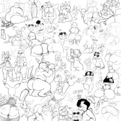 ass conker crossover eevee furry gumball_watterson huge_ass hyper_penis lucky male monochrome morgana nicole_watterson penis pichu pikachu pikmin pokemon sex snorlax sssonic2 testicles text the_amazing_world_of_gumball yoshi