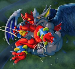 anal anal_sex angry anthro arma ass balls barefoot capcom claws cum cum_in_ass cum_inside cum_on_balls cum_on_butt cum_on_leg cum_on_penis cumshot daftpatriot demon demon's_crest drooling ejaculation feathers firebrand from_behind_(disambiguation) gargoyle gay ghosts_'n_goblins grabbed handjob holding holding_leg licking licking_face long_ears looking_back male male/male messy nude orgasm pecs penetration penis pointy_ears red_arremer retracted_foreskin saliva sex sharp_claws sharp_teeth smile spread_legs spreading squint sweat teeth toe_claws tongue tongue_out video_games wings