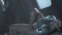 2girls 3d ada_wong animated areolae asian big_breasts biohazard bisexual black_hair blue_eyes boots brown_hair busty capcom cleavage clothed curvy dickgirl erect_nipples esk eyelashes female futa futanari gloves handjob hat huge_breasts imminent_sex intersex jill_valentine large_breasts latex leather masturbation no_sound nuts open_mouth partially_nude pink_lips puffy_nipples resident_evil short_hair sitting source_filmmaker spread_legs video_games voluptuous voyeur webm