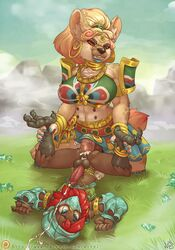 african_wild_dog ahe_gao anal anal_sex anthro armor armwear atryl avian balls bird blush boon_digges bracelet breasts breath_of_the_wild canine chest_tuft claws clothing cum cum_in_ass cum_inside cum_while_penetrated cumshot ear_piercing ejaculation erection feet gerudo girly hands-free head_jewelry hi_res hyena intersex intersex/male jewelry lipstick looking_pleasured makeup male mammal multi_nipple nintendo nipples orgasm penetration penis piercing robin size_difference skirt snavel story text the_legend_of_zelda tuft urbosa vein veiny_penis video_games