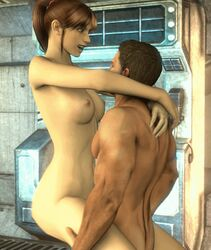 3d animated brother_and_sister chris_redfield claire_redfield incest resident_evil riding