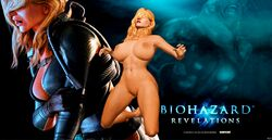 1girl 3d big_boobs big_breasts big_tits blonde blonde_hair boobs breasts feet female foot games human legs naked nipples nude posing pussy pussy_lips rachel_foley render resident_evil resident_evil_revelations solo solo_female tits video_games xnalara xps
