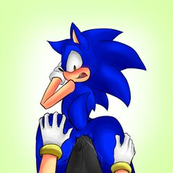 anal anus ass pyupew sonic_(series) sonic_the_hedgehog