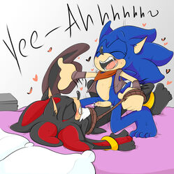 anal balls bound cum cum_in_ass gay male penis shadow_the_hedgehog sonadowxx sonic_(series) sonic_the_hedgehog