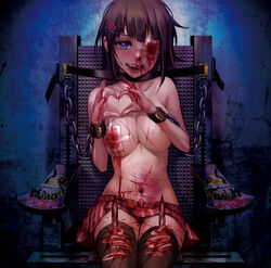 blood female gore guro tagme torture
