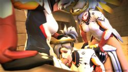 3d animated ass balls breasts cleavage clones coot27 dickgirl erection fellatio from_behind futa_on_futa futanari intersex mercy oral overwatch penis selfcest sound source_filmmaker sparklypeach temple_of_anubis_(map) testicles threesome webm