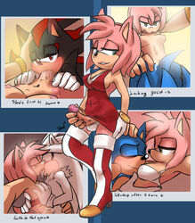 amy_rose anal anthro artist_request cum cum_in_mouth cum_inside dickgirl dickgirl/male futa_on_male futanari hand_on_ass hand_on_head intersex intersex/male kissing makeout oral panties_aside photo photo_(object) red_dress selfie shadow_the_hedgehog silver_the_hedgehog sonic_(series) sonic_the_hedgehog