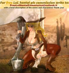 artist_request cowgirl_miss_fortune handjob horse horsecock league_of_legends miss_fortune zoophilia