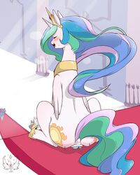 2016 alicorn anal anal_sex anus blush closed_eyes cold-blooded-twilight crown cutie_mark dildo dildo_sitting equine exhibitionism feathered_wings feathers female feral friendship_is_magic group hair hi_res horn jewelry long_hair mammal multicolored_hair my_little_pony necklace open_mouth penetration princess_celestia_(mlp) royal_guard_(mlp) sex_toy sitting twilight_sparkle_(mlp) wings