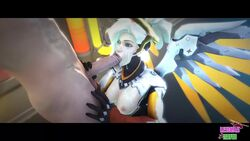3d animated areolae breasts cum cum_on_face erection fellatio female lesdias male mercy nipples no_sound oral overwatch penis source_filmmaker straight webm